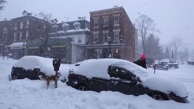 Video: Time-lapse of snowstorm in Tarrytown