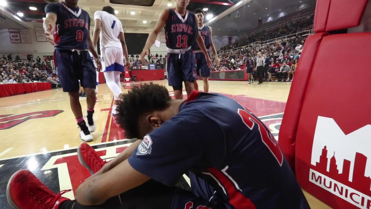 Video: Stepinac basketball loses to Molloy in semifinal