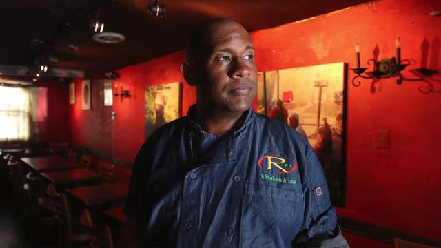 Chef/owner Nigel Spence talks about his restaurant, Ripe Kitchen, in Mount Vernon.