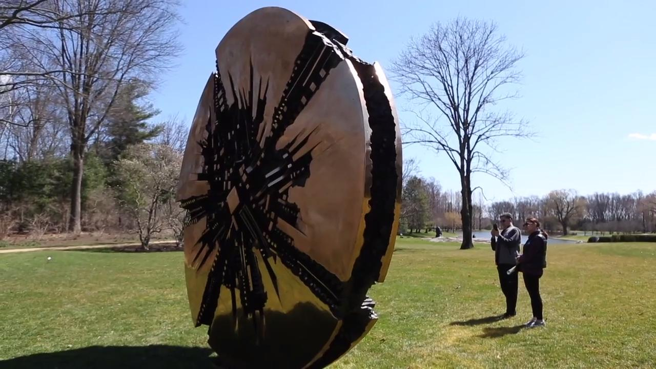 Video: PepsiCo Sculpture Garden re-opens to the public