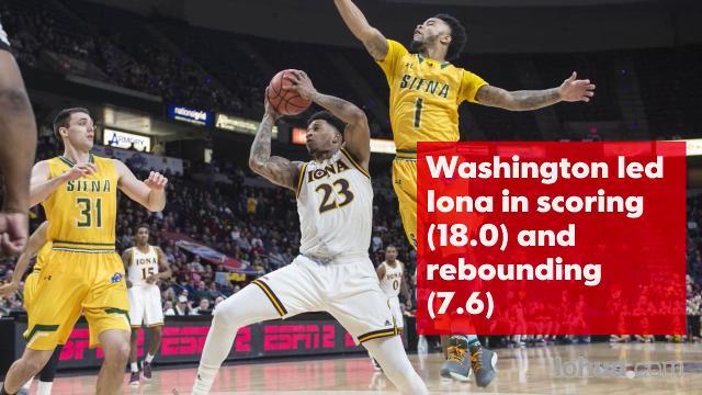 Video: Iona's Jordan Washington named All-Met
