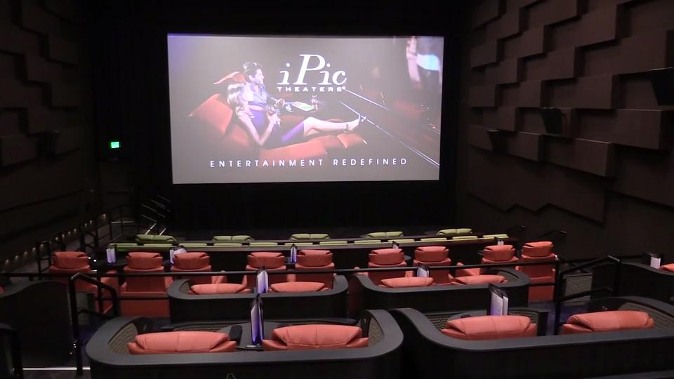video sneak preview of luxury movie theater