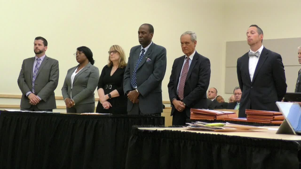 Video: Vilair Fonvil and Jermika Depas arraigned in county court