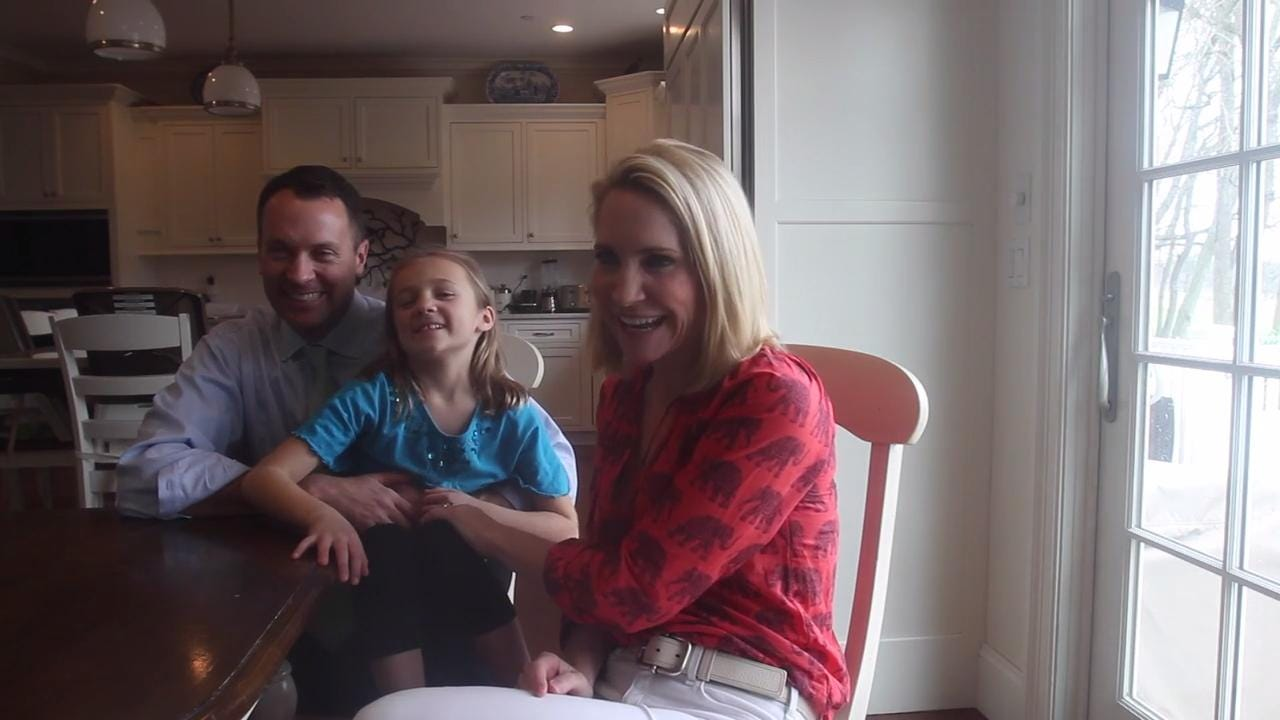 Andrea Canning and her husband moved from Manhattan to Rye several years ago. The couple is expecting their 6th child.