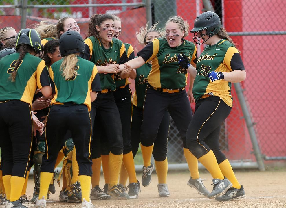 Video: Lakeland celebrates victory over Eastchester in Section 1 final