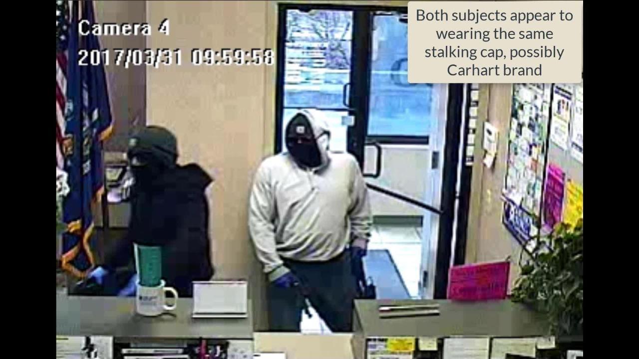Video: Watch 2 rob Briarcliff bank; $10K reward offered