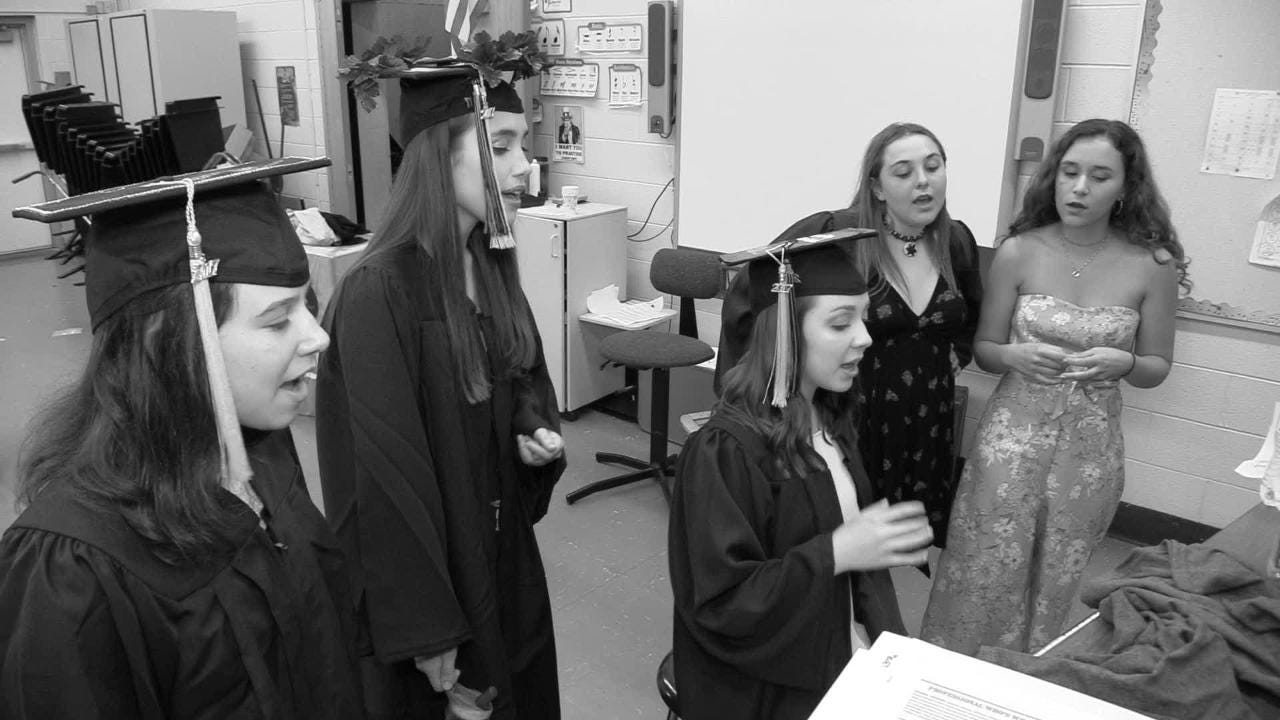 The Croton High School graduation at the school on June 22, 2017. Video by Brian Vangor.