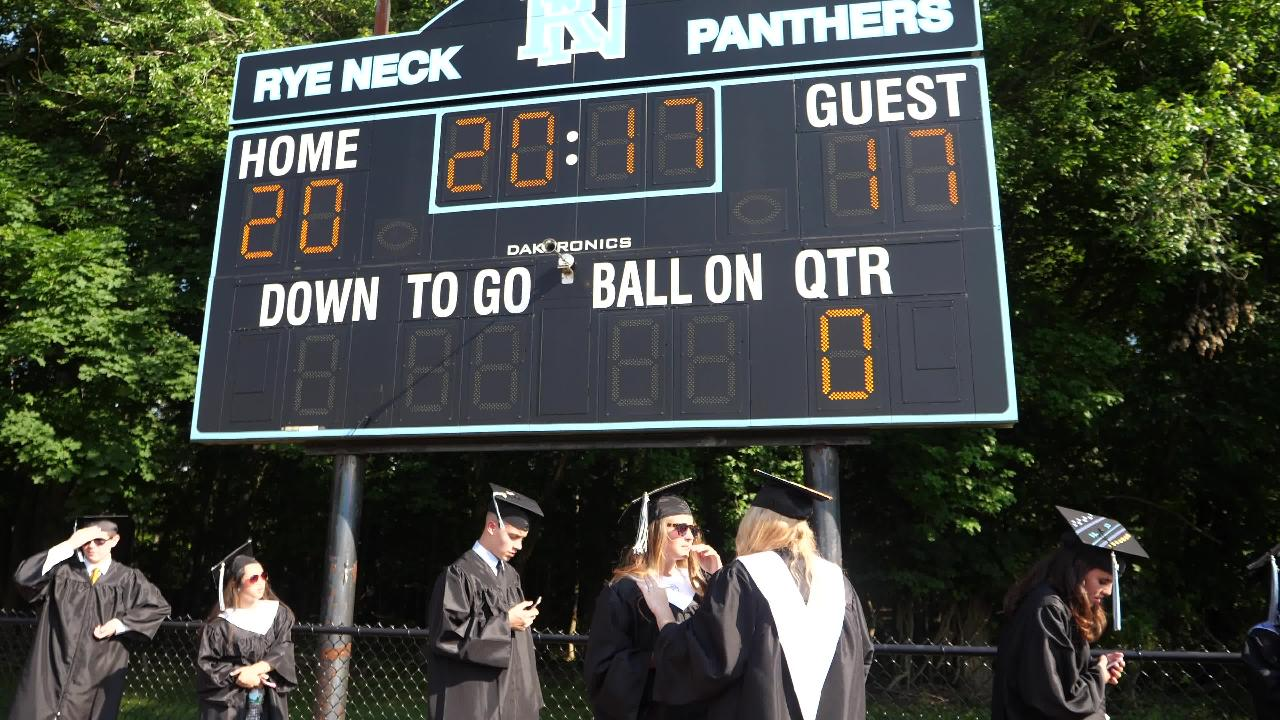 Rye Neck High School Graduation took place at their school in Mamaroneck June22, 2017. Video by Adam McIe/@adammcie for lohud