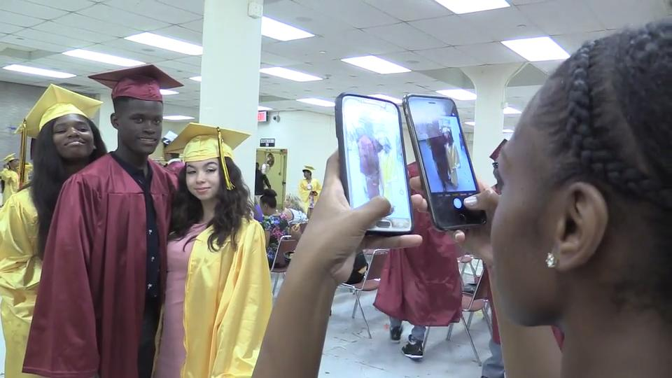 Mount Vernon High School held its 139th commencement ceremony at the Westchester County Center in White Plains June 23, 2017.