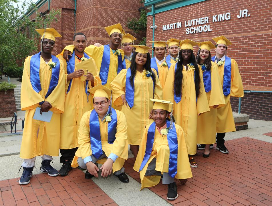 Scenes from the Martin Luther King Jr. High School Graduation in Hastings-on-Hudson, June 23, 2017.