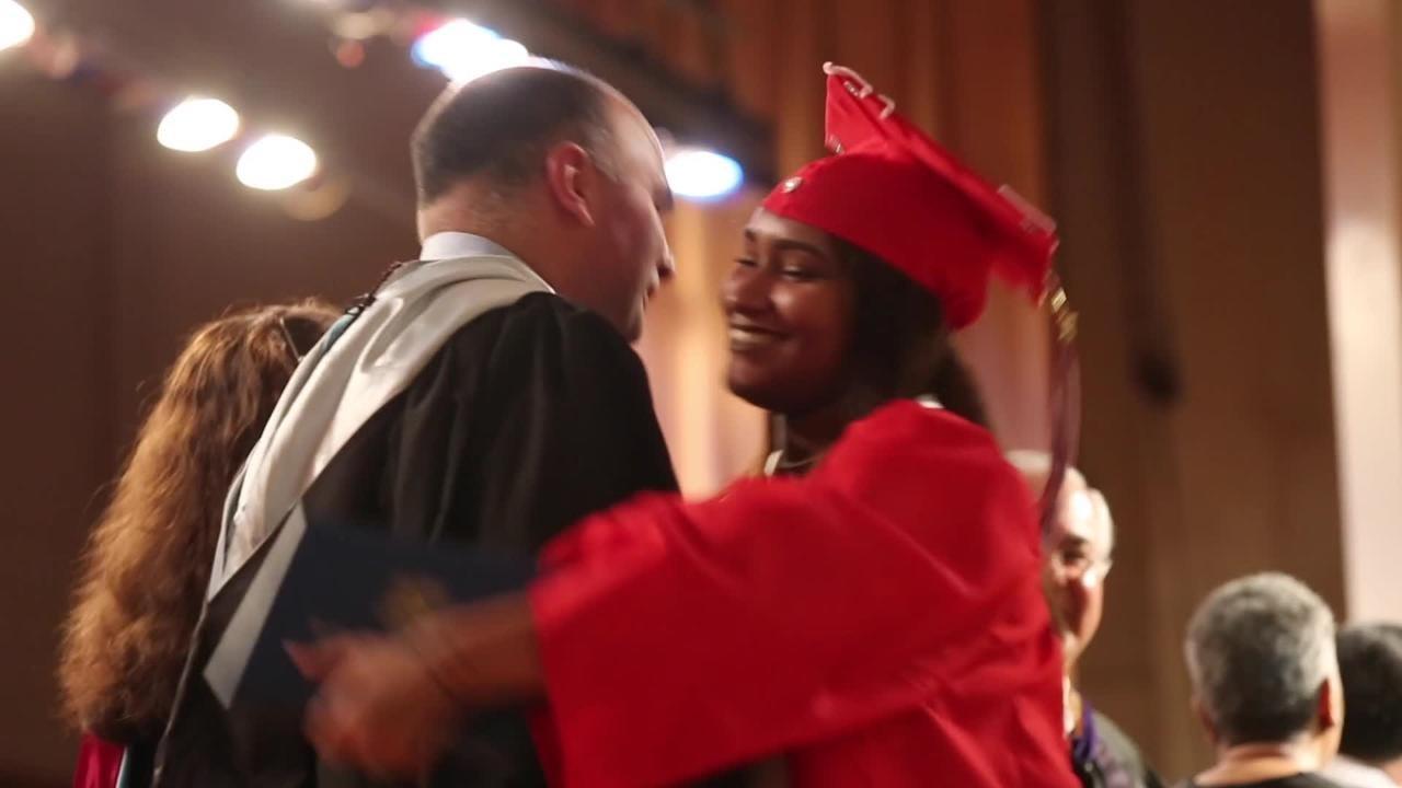 Yonkers Montessori Academy Graduation in Yonkers June 23, 2017