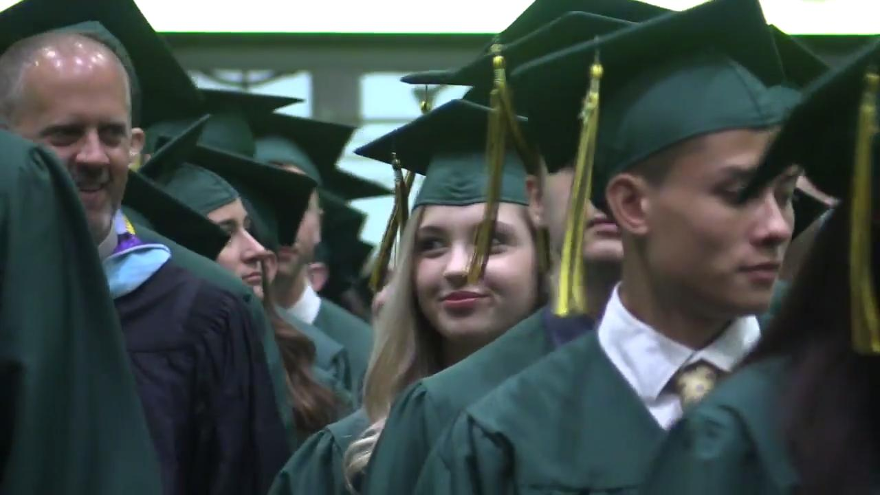 Lakeland High School held its commencement ceremonies at the Westchester County Center in White Plains on June 24, 2017.