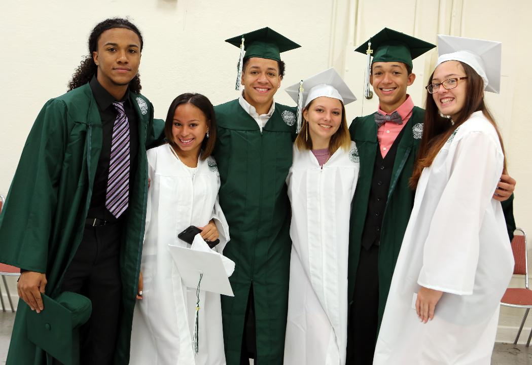 A look at Yonkers' Gorton High School graduation June 25, 2017 at the Westchester County Center.