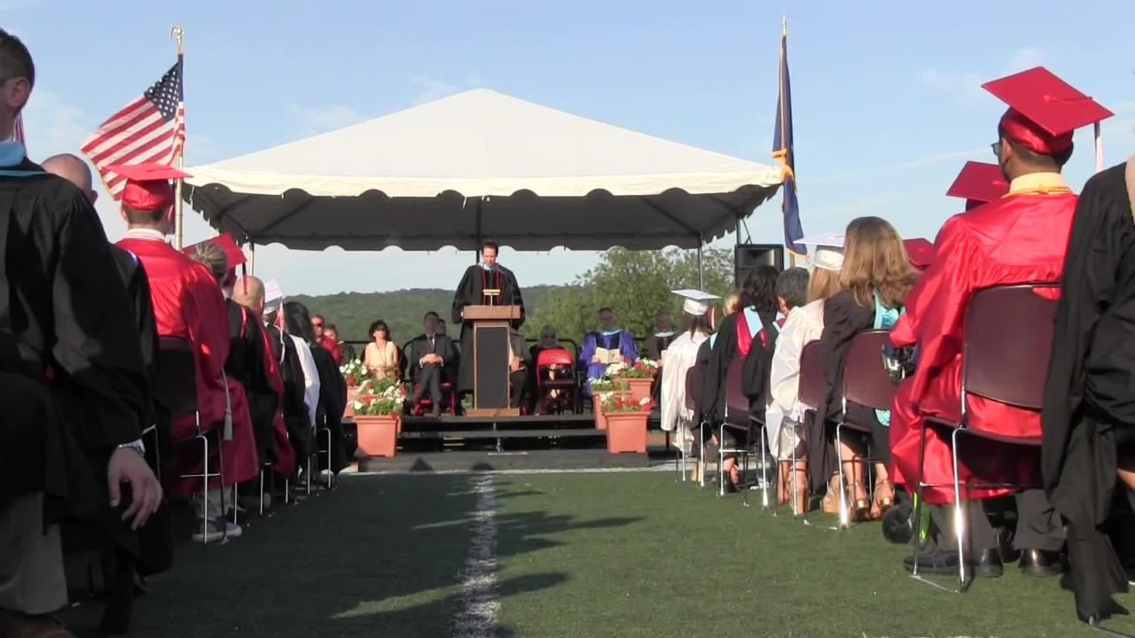 Tappan Zee High School held its 114th Commencement Exercise in Orangeburg on Thursday, June 22, 2017.