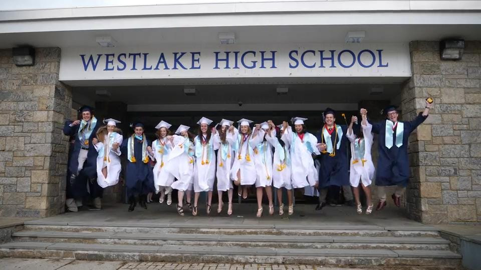 Westlake High School Graduation was held at the school in Thornwood June 23, 2017.