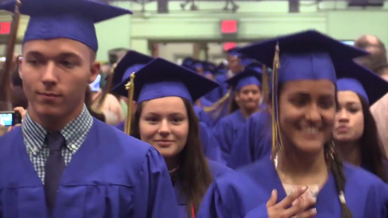 Walter Panas High School held its 45th annual commencement at the Westchester County Center in White Plains June 24, 2017.
