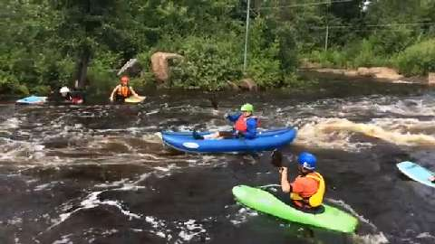 Event at Wausau Whitewater Park allows wounded veterans to paddle on world class kayaking course