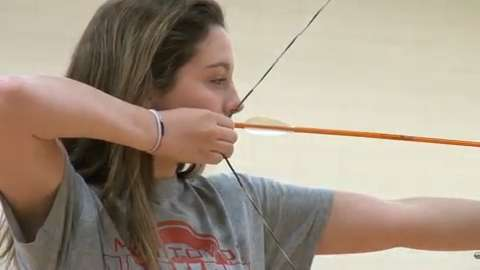 Courses range from archery to service projects in the school forest to baking wars. (July 21, 2014)