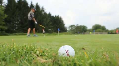 Youngsters took to the links at the Marshfield Country Club for a camp to learn skills like putting and chipping, Friday, Aug. 1, 2014.
