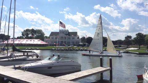 Inland Lake Yachting Association's annual championship will bring more than 400 sailors to Oshkosh. Aug. 13, 2014.