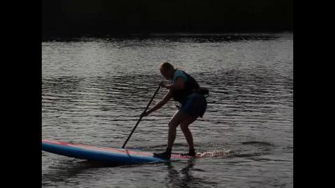 On this month's agenda for Laura and Carrie's installment of Fit For 2 is paddleboarding. They go along with ace paddleboarder, Anna Butt of Divepoint Scuba on the Wisconsin River in Wausau.