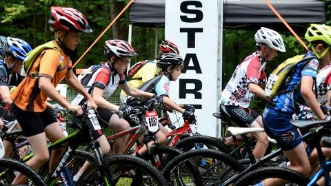 The Reforestation Ramble in Suamico offers a longer course than usual for WORS cyclists. (Aug. 24, 2014)