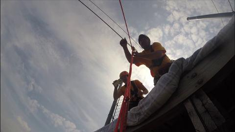 Ride with Michael Gilbert, a 24-year-old with cerebral palsy, as he tries out the zip line at the NEW Zoo and Adventure Park in Suamico for the first time. (Aug. 11, 2014)