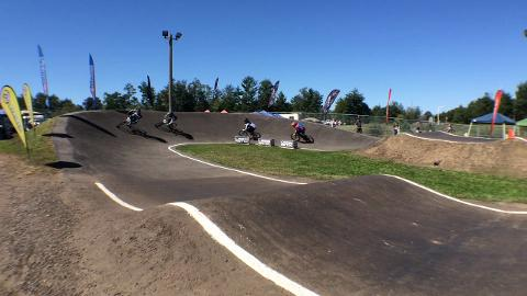 Sights and sounds from Saturday action at the Badger State National BMX races at Central Wisconsin BMX track in Wisconsin Rapids. The three-day event ended Sunday, Sept. 7. (Sept. 7. 2014/Casey Lake)