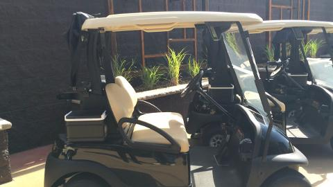 SentryWorld GM Mike James talks about the new golf carts at Sentry World Golf Course.