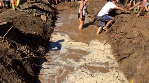 Tough Mudder event at Road America in Plymouth on Saturday, September 6, 2014. (September 6, 2014)