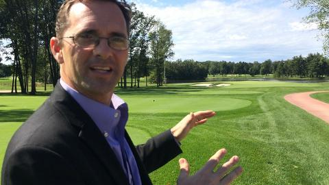 SentryWorld GM Mike James talks about the new Hole #3 at Sentry World Golf Course.