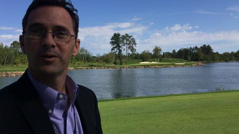 SentryWorld GM Mike James talks about the new Hole #12 at Sentry World Golf Course.