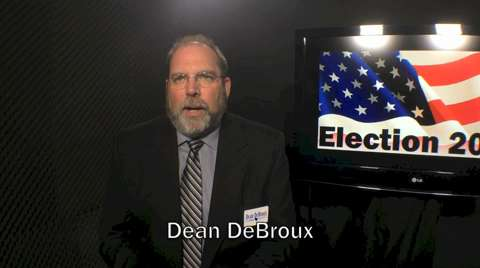 Dean DeBroux is the Democratic candidate for Wisconsin's 1st Senate District. (Oct. 22, 2014)
