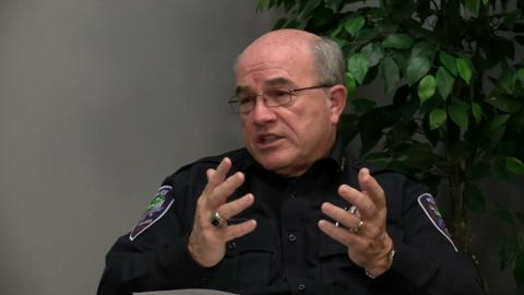 Appleton Police Department interim chief Jim Lewis discussed Gannett Wisconsin Media's and USA Today's coverage of police department arrest rates and the disparity between the arrest rates between races. (Nov. 20, 2014)