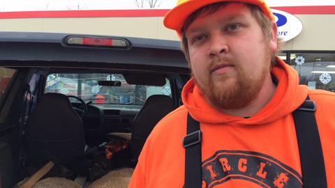 Coleton LeDuc of Wausau talks about his opening day hunting experience.