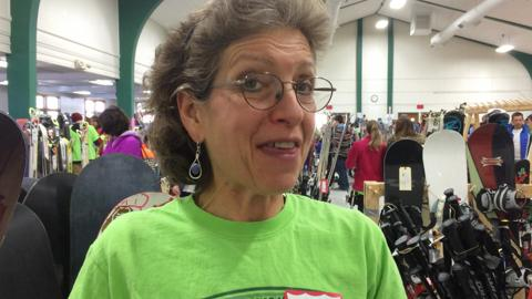 Skiers gear up for winter at the Wausau Ski Swap