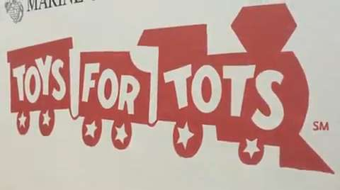 Toys For Tots Graphics : Salvation army hands out toys for tots cheer