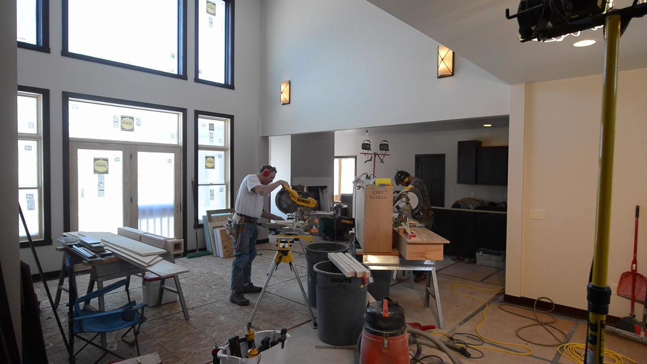 Building homes becomes outlet for childhood passion