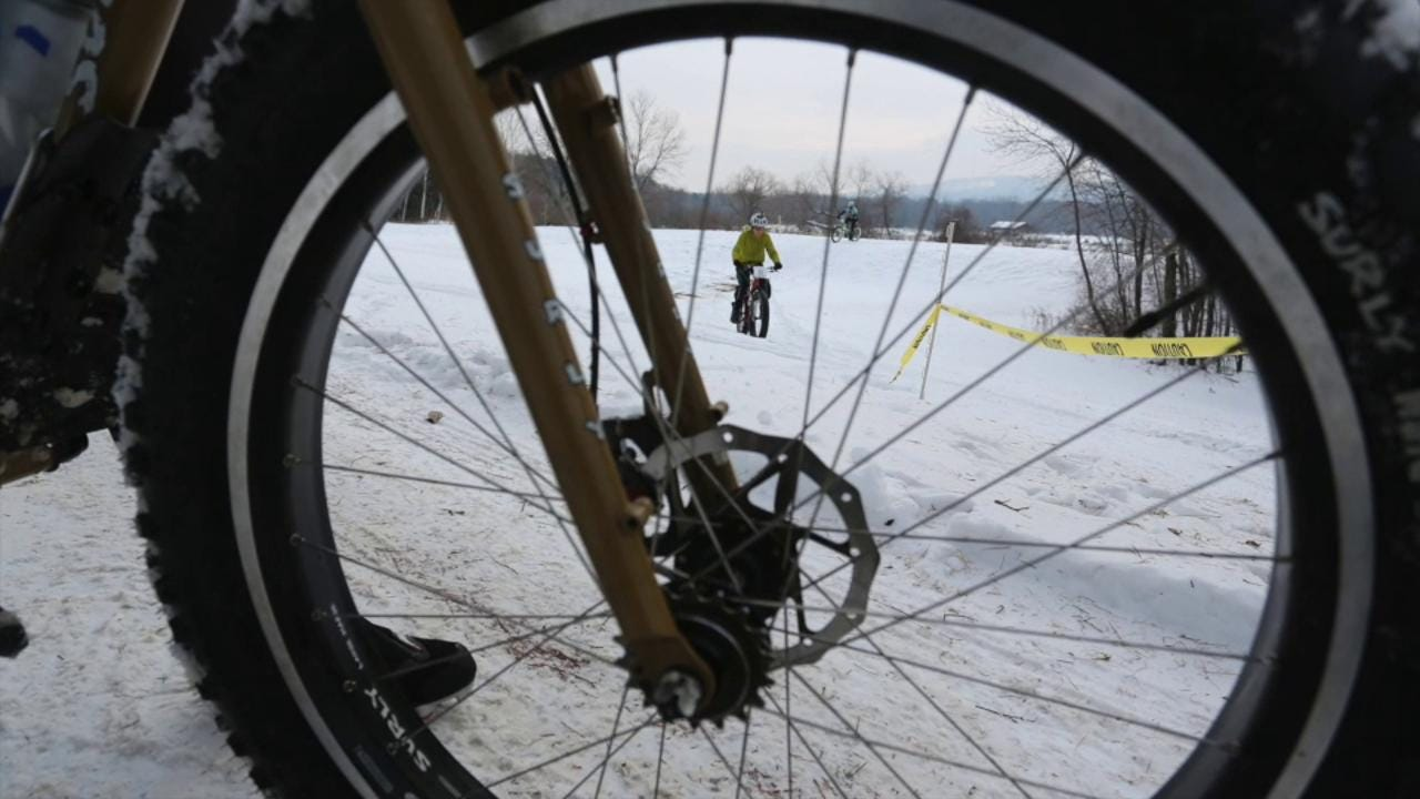 We ad some comments by Richard Barrett, executive director of the Central Wisconsin Convention & Visitors Bureau, to footage from the Badger State Games' Fat Tire Biking and Pond Hockey footage.