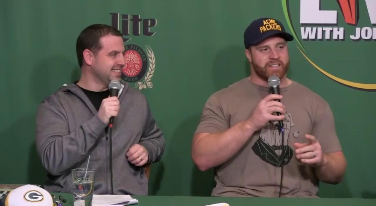 Packers John Kuhn said on Monday's Clubhouse Live that players sometimes don't know what terms or references quarterback Aaron Rodgers will say while he's at the line of scrimmage. Watch the full replay: www.clubhouselive.com. (Jan. 12, 2015)