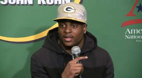 Green Bay Packers Davante Adams said on Monday's Clubhouse Live with John Kuhn that teammates and coaches welcomed him warmly. Watch the full replay: www.clubhouselive.com. (Jan. 20, 2015)