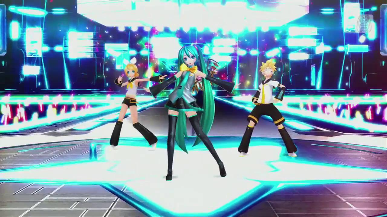 The sequel to 'Hatsune Miku Project DIVA F' was released in late 2014.