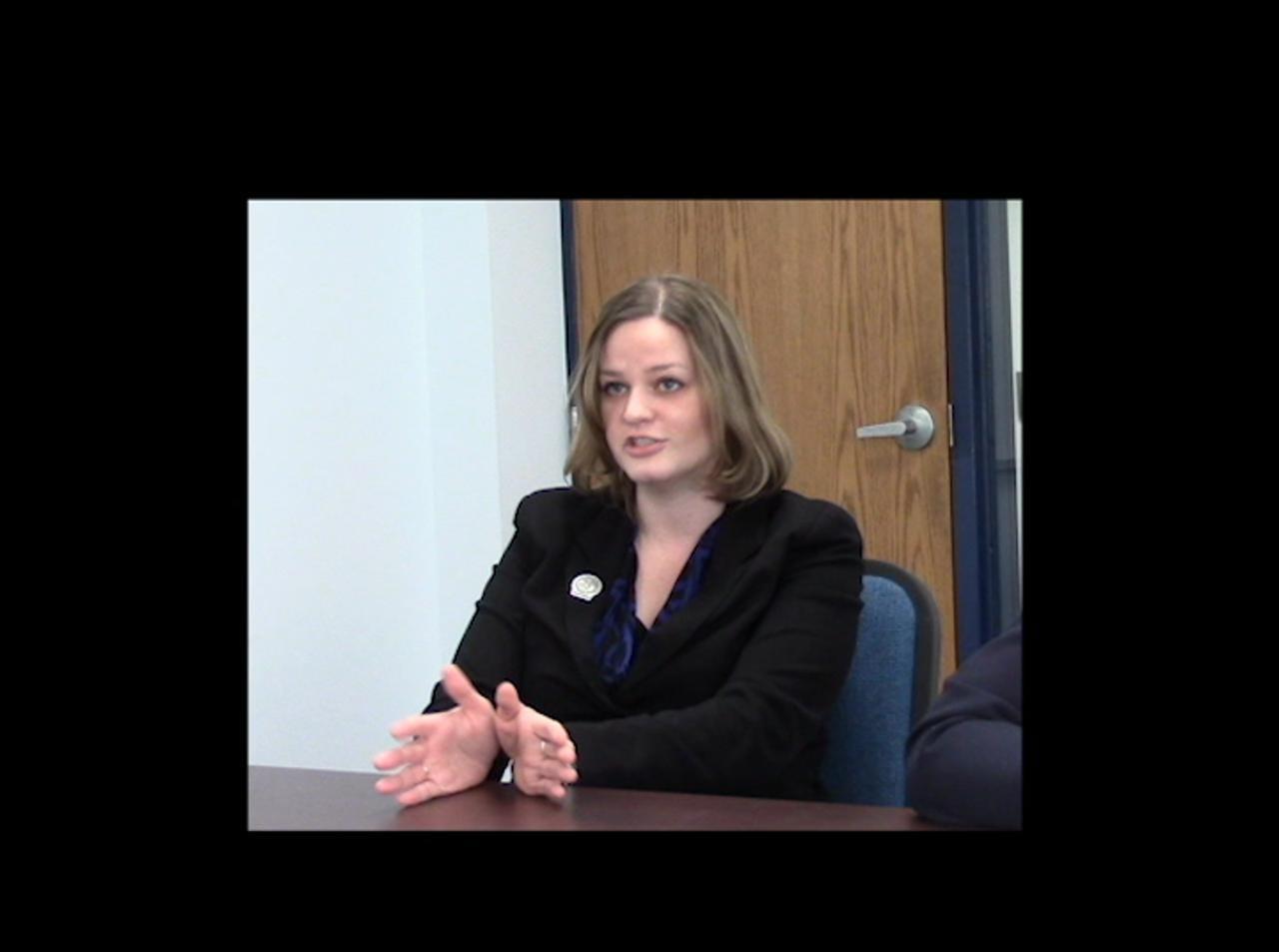 Rep. Katrina Shankland spoke with Gannett Central Wisconsin Media ahead of Gov. Scott Walker's 2015 budget address.