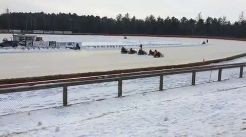 Vintage snowmobile racer Jeremy DuQuaine talks about why he loves the sport.