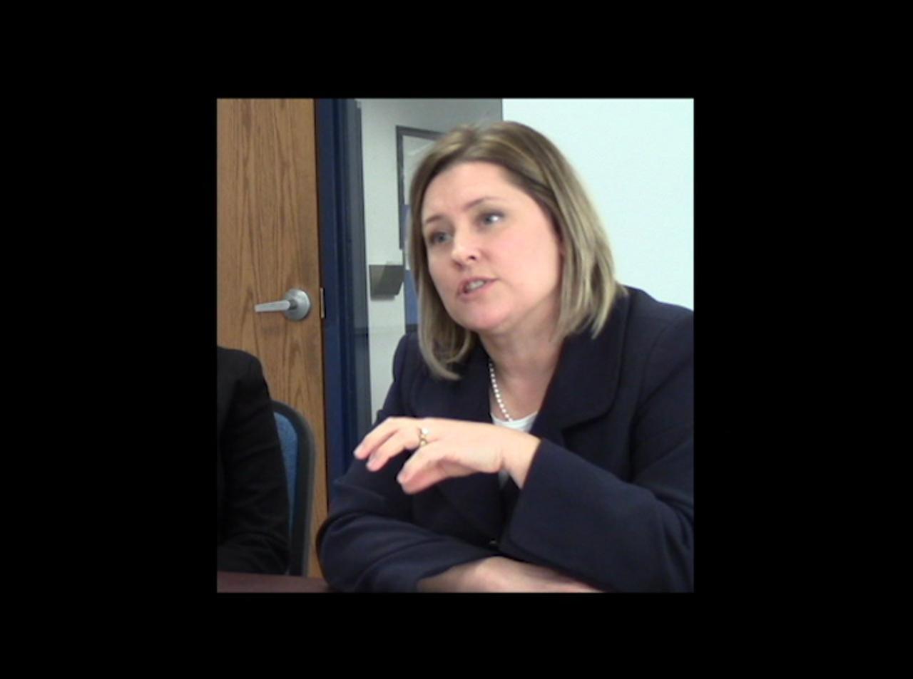 Sen. Julie Lassa spoke to Gannett Central Wisconsin Media ahead of Gov. Scott Walker's 2015 budget address.