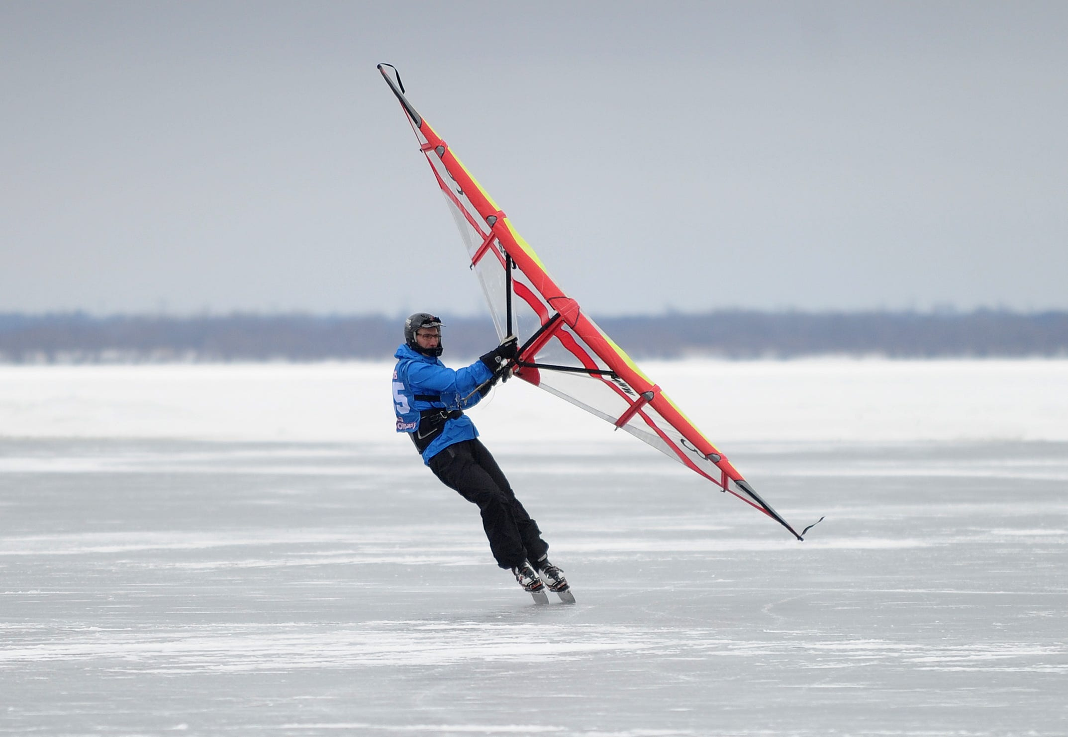 Racers from several countries meet in Fond du Lac for the World Ice and Snow Sailing Championships.
