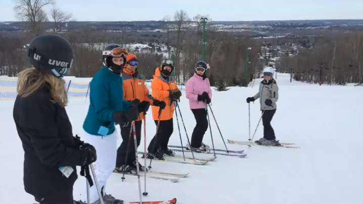 The Granite Peak Ski Area offers some special ski classes for women. Daily Herald Media reporter Nora Hertel participated in the Women's Turn class with several other women.