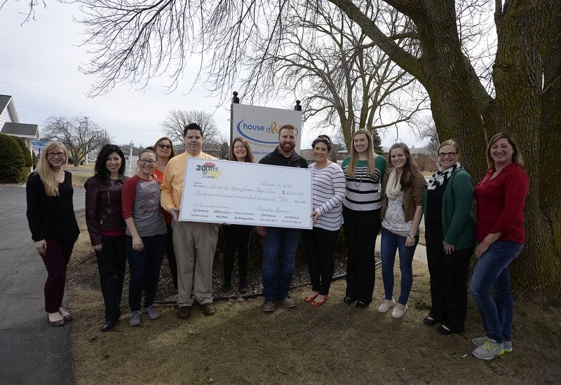 House of Hope receives over $90,000 in donations