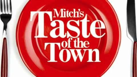 News-Herald Media reporter Mitch Skurzewski tastes cheese curds and two different burgers at Nutz Deep II in Marshfield.