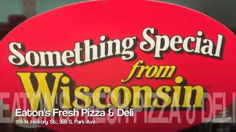Pub & Grub Nickel Tour: Eaton's Fresh Pizza & Deli has two locations in Fond du Lac: 196 N. Hickory St. and 368 S. Park Ave.